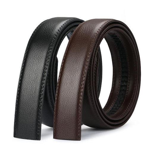 No Buckle Belt Brand Belt Men High Quality Male Genuine Strap Jeans Belt