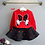 Thumbnail: Latest Spring and Autumn Piece Fitted Girls, Cartoon Bow Embroidered Sweater