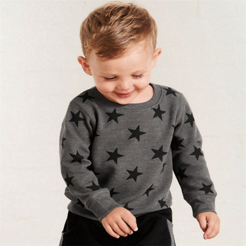 Jumping Meters New Stars Sweatshirts Baby Boys Girls Outwear Cotton Clothing