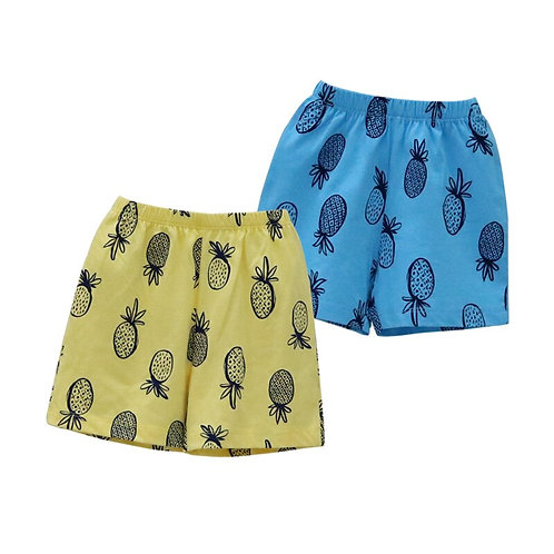Boys 2Pcs/Lot Shorts Baby 100% Cotton Clothes for 1 to 5 Years Old Children
