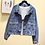 Thumbnail: Jeans Jackets Coats Women 2019 Short Casual Denim Coat