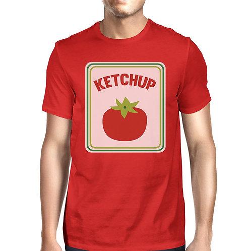 Ketchup Mens Red Shirt
