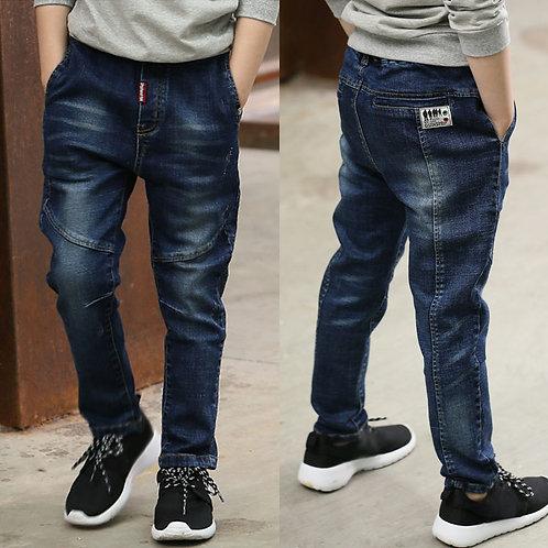 IENENS 5-13y Kids Boys Clothes Skinny Jeans Classic Pants Children Denim