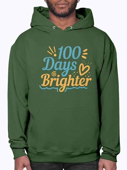 100 Days Brighter -  School  - Hoodie