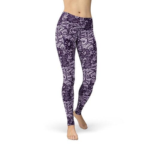 Jean Purple Lace