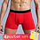 Thumbnail: 4Pcs/Lot Mens Boxer Shorts Men's Boxers Panties Man Underwear Men Cotton Boxer