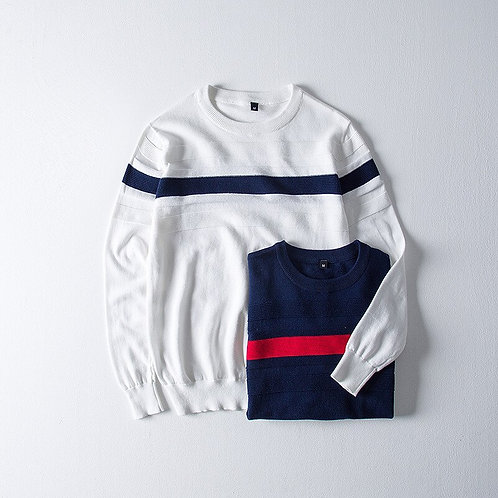 Winter Fashion Mens O-Neck Kniteted Sweater Long Sleeve Knitted Soft Warm