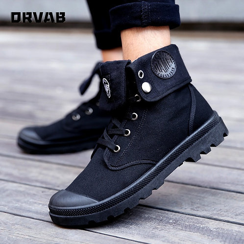 Men Military Boots Outdoor Fashion Casual Shoes