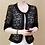 Thumbnail: Womens Jackets and Coats Long Sleeve Beading Hollow Lace Women Jacket