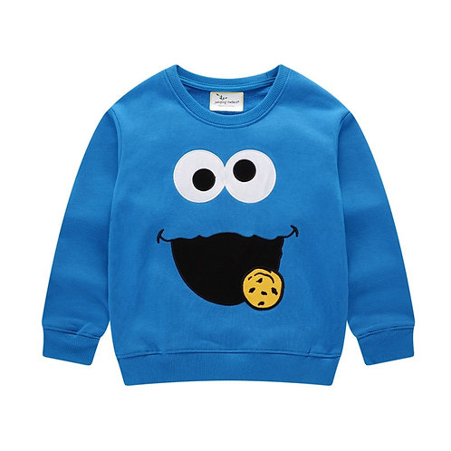 Jumping Meters Baby Boys Sweatshirts Cartoon Autumn Winter Long Sleeve Looped