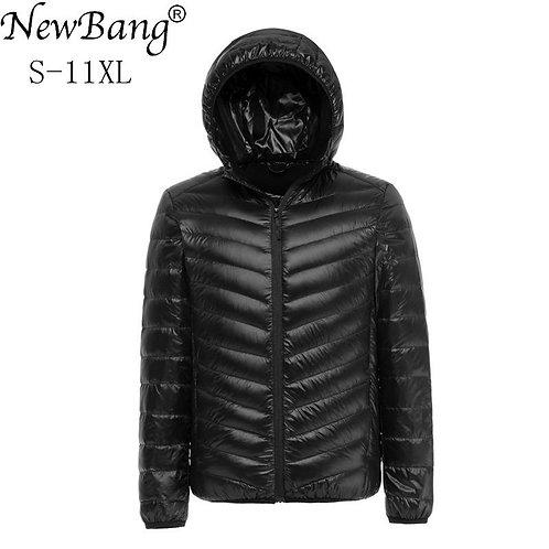 NewBang  Duck Down Jacket Men Autumn Winter Jacket Men Hooded Waterproof Jackets