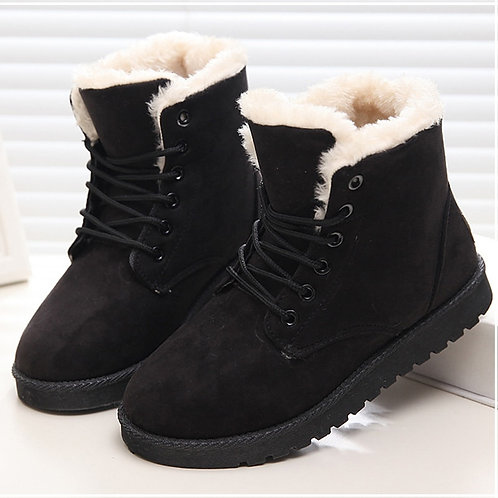 Winter Shoes Woman Super Warm Ankle Boots for Female Winter Shoes