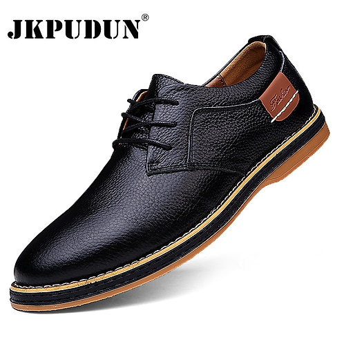 Men Oxfords Genuine Leather Dress Shoes / Casual Shoes Moccasins Loafers Men