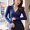 Thumbnail: 15 Colors 2019 Sexy Deep v Neck Sweater Women's Pullover Slim Sweaters Female