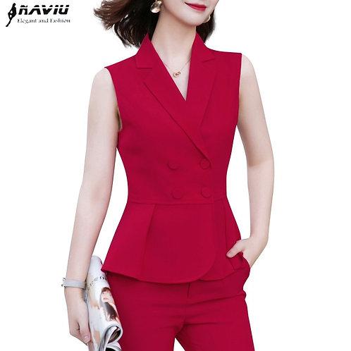 Fashion Chalecos Para Summer New Formal Slim Jacket Office Ladies Casual Work