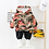 Thumbnail: Kids Boy Clothes Camouflage Baby Suit Hooded Camo Top + Pants Sport Children