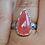 Thumbnail: Rhodocrosite Ring Sterling Silver, Size 7
