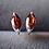 Thumbnail: Marquise Garnet Stud Earrings