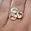 Thumbnail: Sterling Silver Citrine Ring Size 9