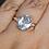 Thumbnail: Blue Topaz 14K White Gold Ring