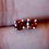 Thumbnail: Round Garnet Stud Earrings