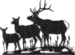 Gate Topper Elk family.jpg