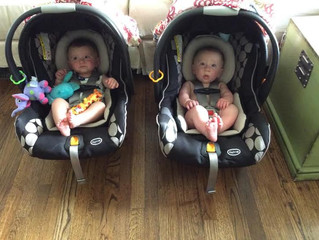 How to Get Out the Door with Twins in 10 Easy Steps (Or, Why I'm Always Sweating)
