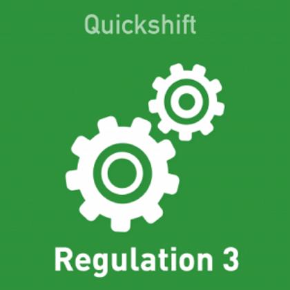 Quickshift Regulation 3