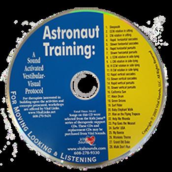 Astronaut Training: A Sound Activated Vestibular-Visual Protocol CD
