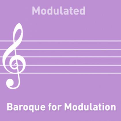 Baroque for Modulation
