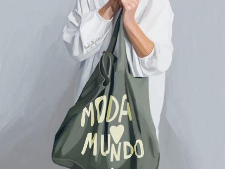 Tener un armario sostenible como el de Laura Opazo es a lo que aspiramos