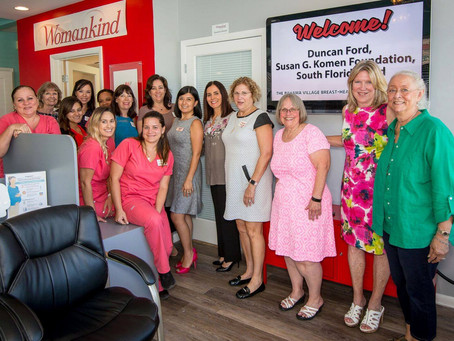 Womankind receives breast health education grant