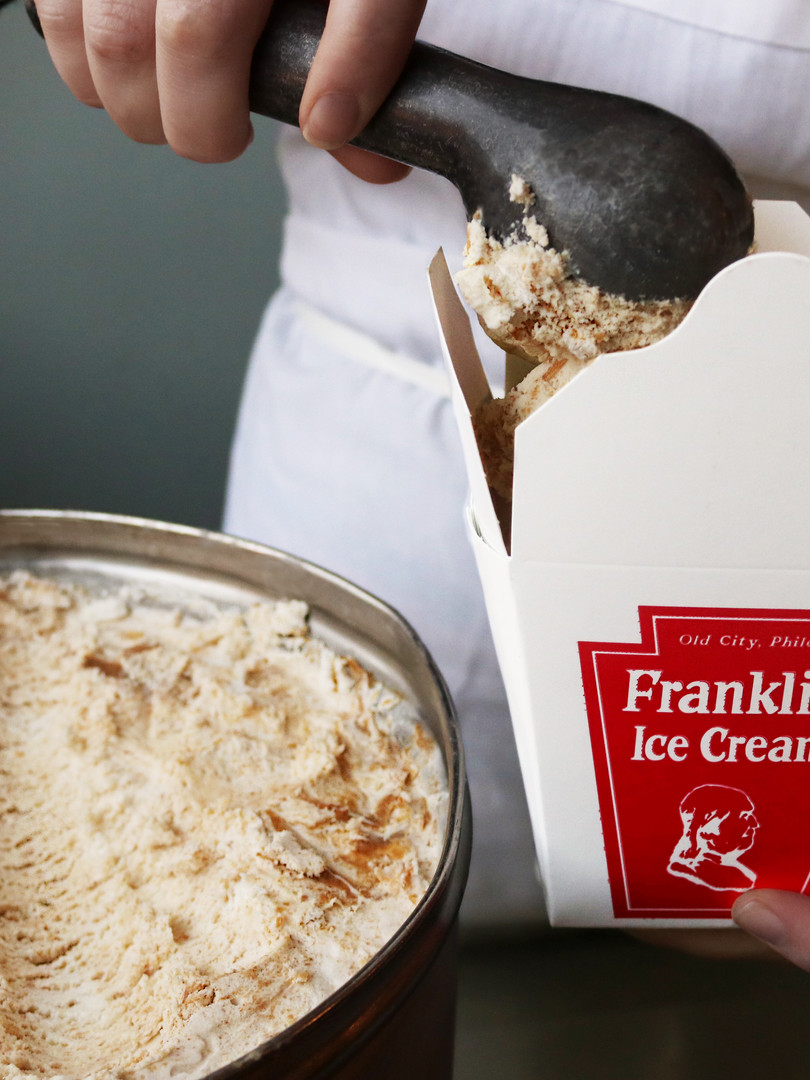 Franklin Ice Cream_Peanut butter ice cre