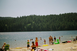 in love with Sasamat lake