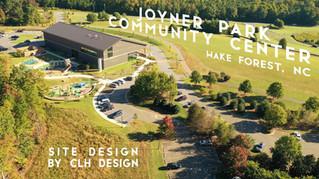 Joyner Park Community Center Site Design