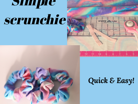 Simple  Scrunchie