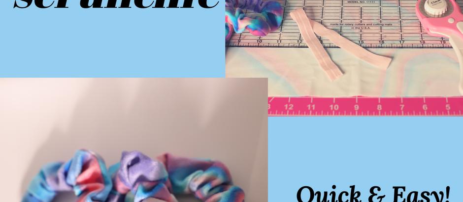 Simple  Scrunchie