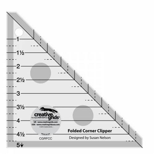 Folded Corner Clipper by Creative Grids