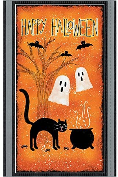 Spooky Vibes Halloween Panel by Wilmington Prints