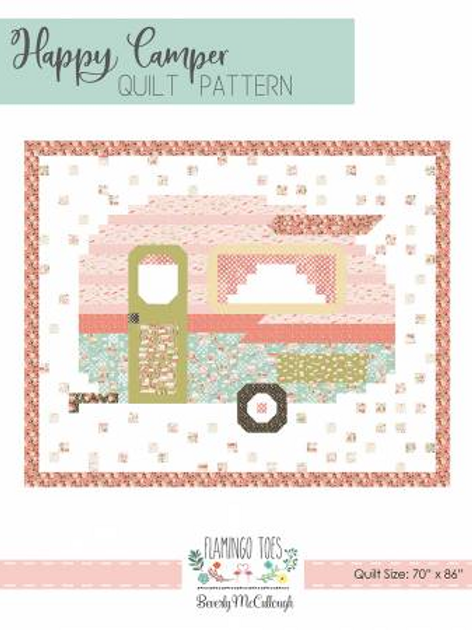 Happy Camper Quilt Pattern  by Flamingo Toes