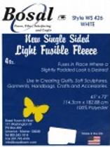 Bosal Single Sided Light Fusible Fleece