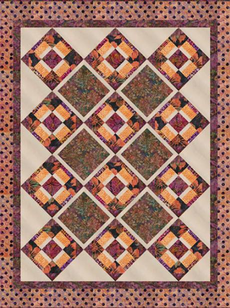 Petit Fours Sierra Batiks by Mirah