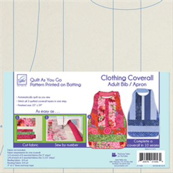 Clothing Coverall  Adult Bib/Apron Quilt as you Go-- by June Tailor