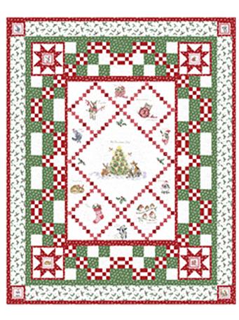 Holiday Company Quilt Kit by Maywood Studios