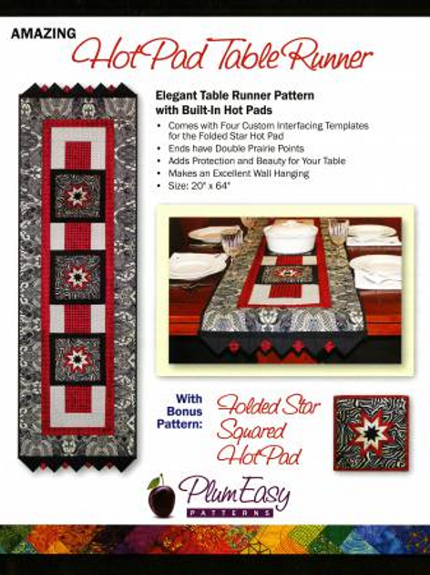 Hot Pad Table Runner  by Plum Easy