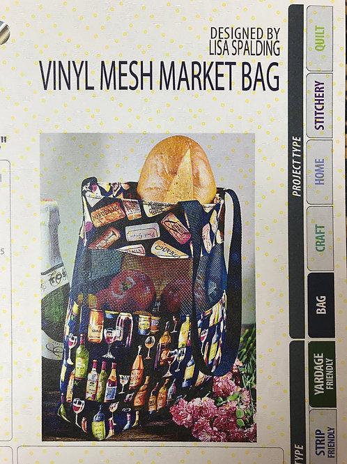 Vinyl Mesh Market Bag by Cut Loose Press