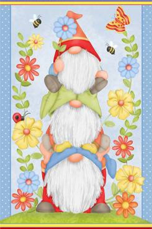 Gnome Panel by Henry Glass Fabrics