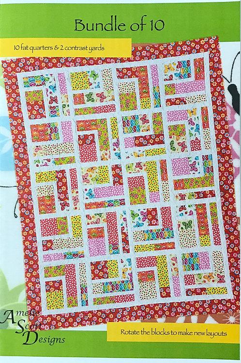 Bundle of 10 by Amelie Scott Designs