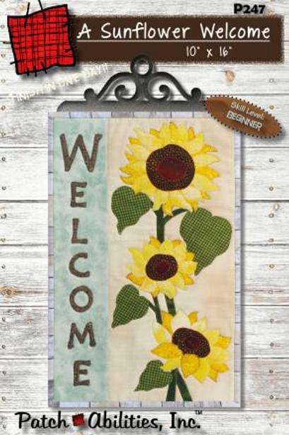 A Sunflower Welcome
