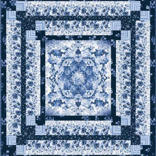 Silver Jubilee Quilt by Maywood Studio